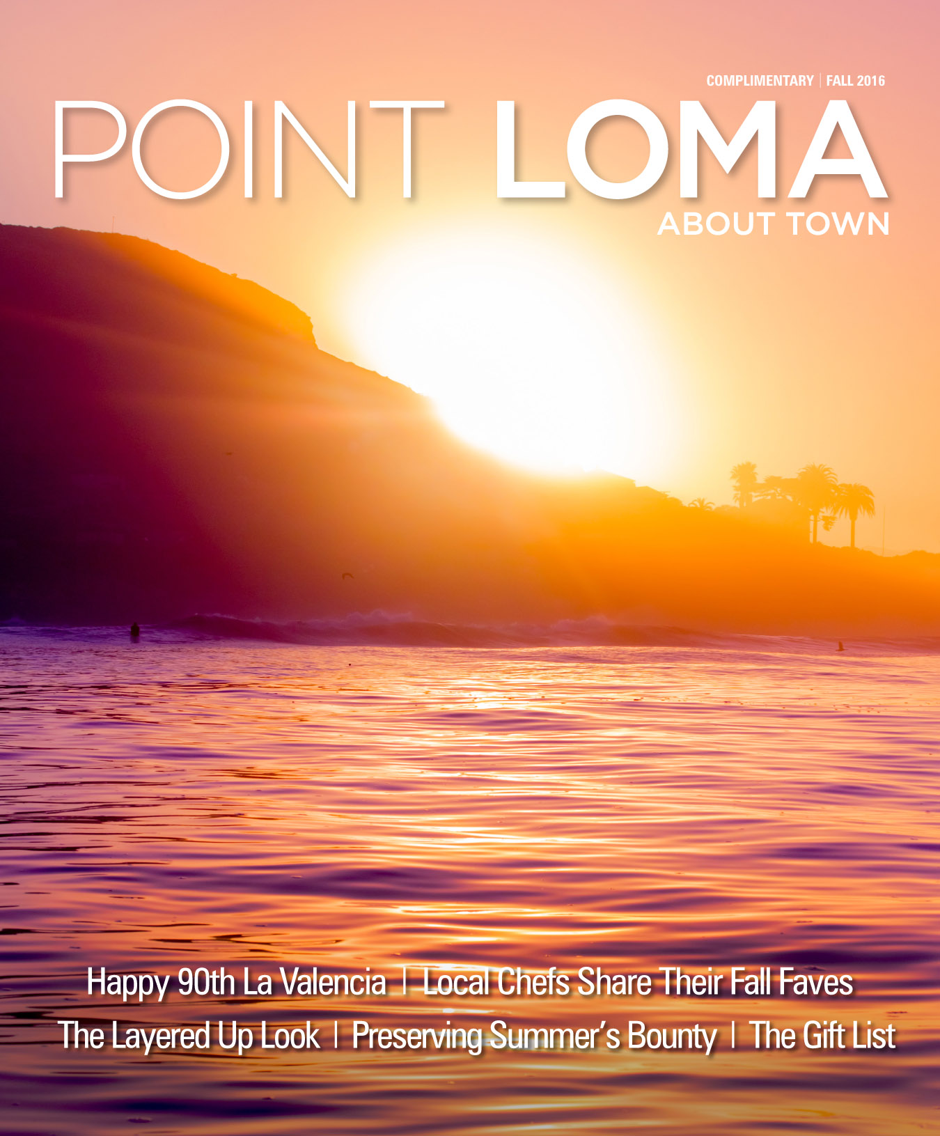 About Town Magazines - Point Loma
