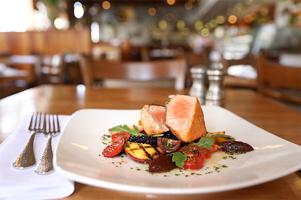 Crispy Skin Wild King Salmon at The Fishery