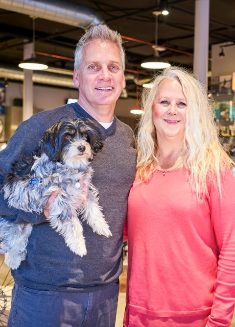 OWNERS TERRY GALKA,  TRACY SHEFFER and Riley