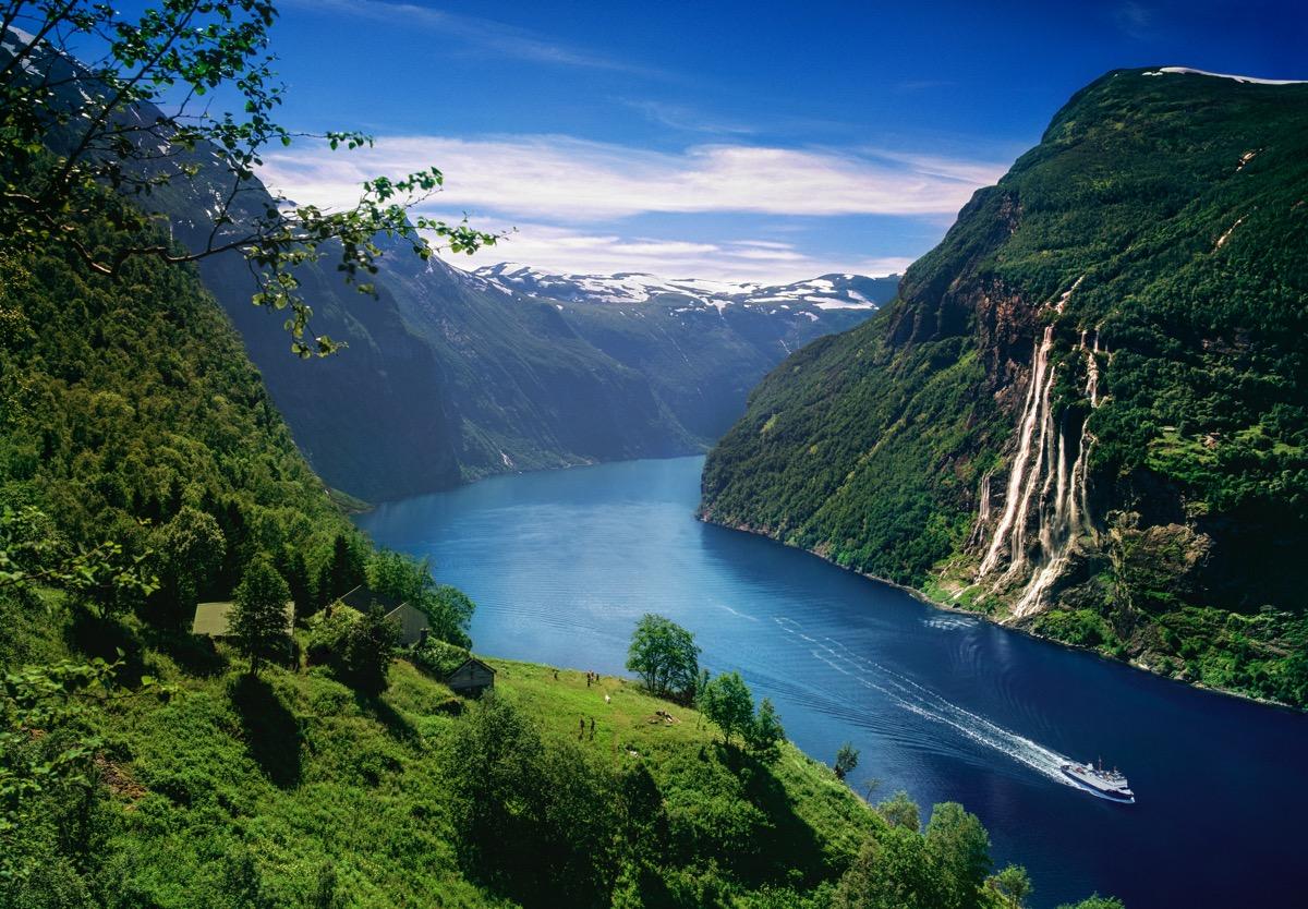 Skageflå and The Geiranger Fjord