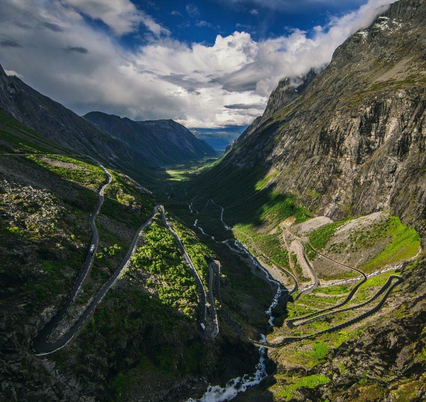 Trollstigen: National tourist routes