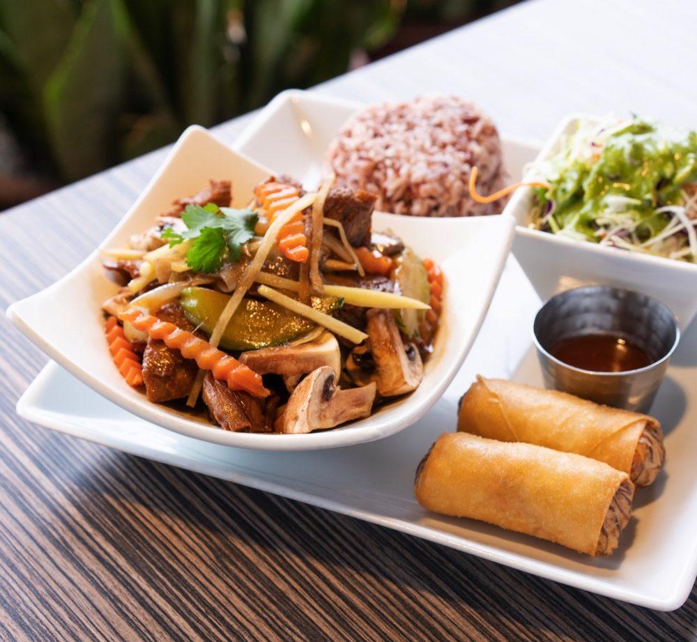 Spice & Rice Thai Kitchen's Ginger Stir Fry