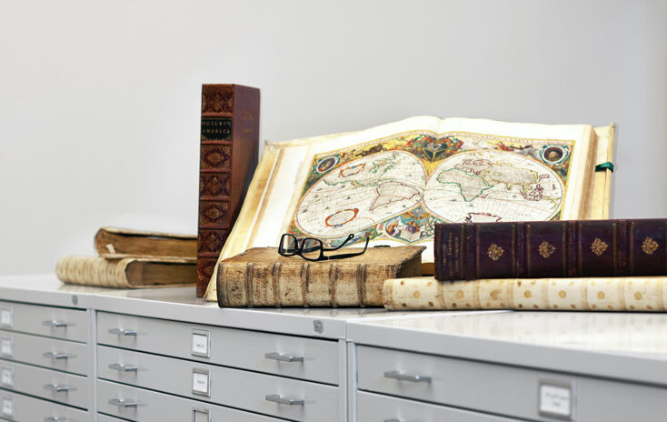 A day of research at Barry Lawrence Ruderman Antique Maps | Mandy Schaffer