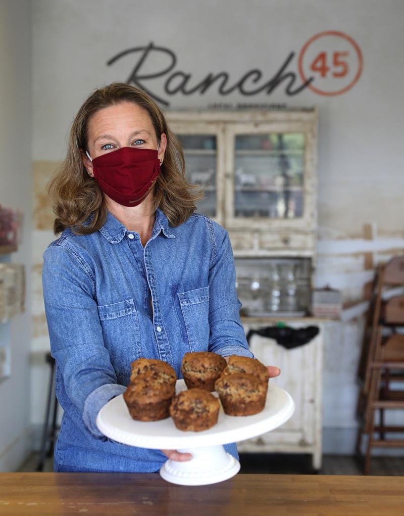 Pam Schwartz at Ranch 45