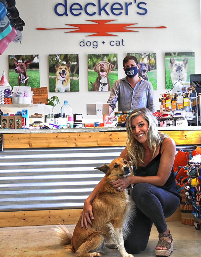Cody and Kensey Decker at Decker's Dog + Cat