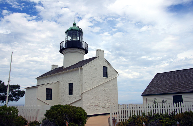 The historic Point Loma Lighthouse is situated in the Cabrillo National Monument | SanDiego.org