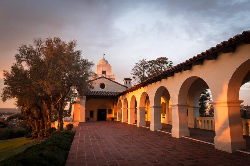 The stunning exterior of the Junipero Serra Museum on Presidio Hill | © 2019 Alex Matthews