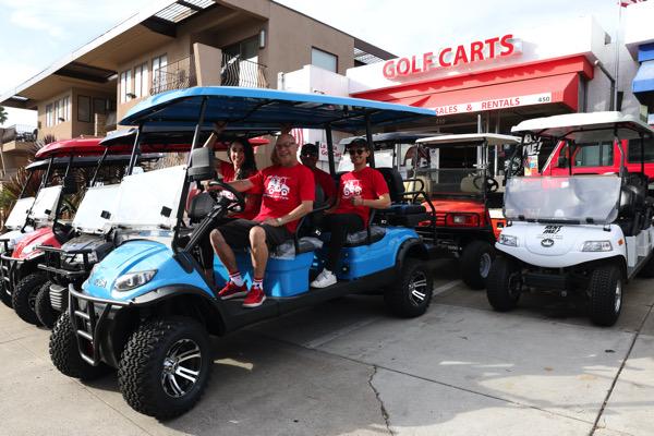 Robert Mackey & Fracesca Canales at San Diego Golf Carts Sales and Rentals | Noushin Nourizadeh