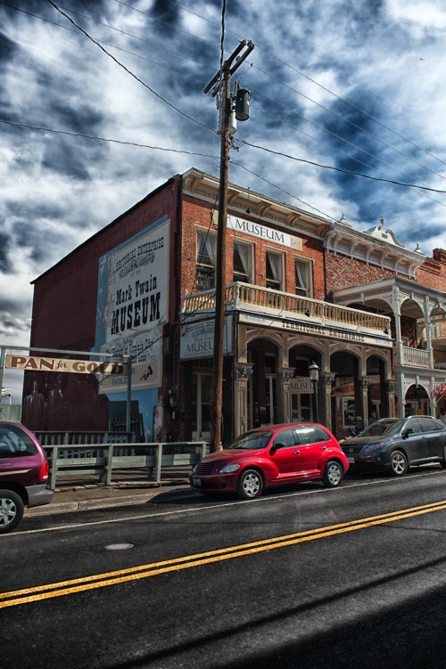 The Territorial Enterprise Building, home to Nevada's first newspaper | Ronele Dotson