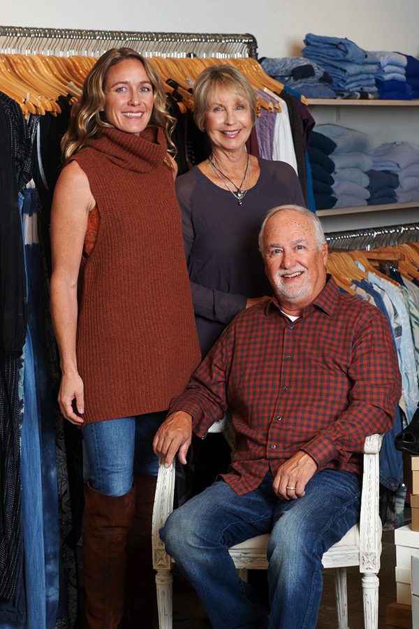 Co-owners Stephanie Stock, Barbara Forest, and Dennis Del Rey