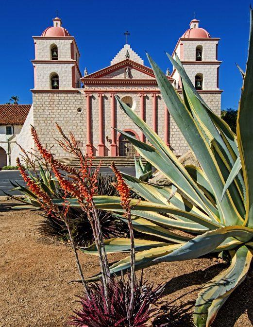 Old Mission Santa Barbara  |  MARK WEBER