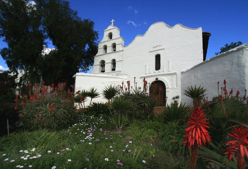 California's first Mission Church, Mission Basilica San Diego de Alcalá | Joanne DiBona