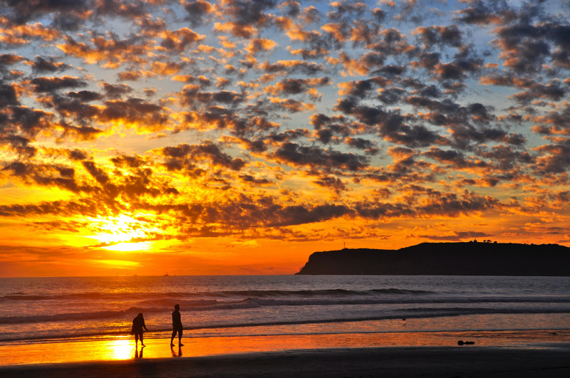 Strolling along Coronado Beach at sunset | John McCauley