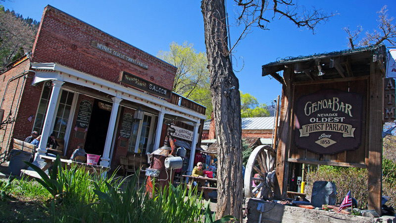 Genoa Bar in Nevada's oldest settlement | Ronele Dotson